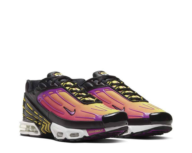 Nike Air Max Plus III Black / Hyper Violet - Dynamic Yellow CJ9684-003