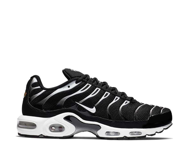 Nike Air Max Plus Black / White - Black - Reflect Silver 852630-038