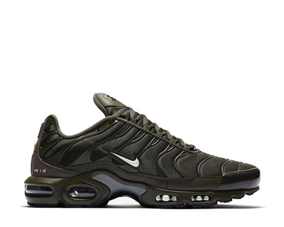 Nike Air Max Plus Cargo Khaki / White - LT Smoke Grey - Black CU3454-300