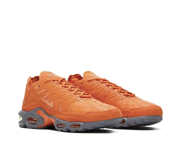 Nike Air Max Plus Decon Electro Orange / Electro Orange - Cool Grey CD0882-800