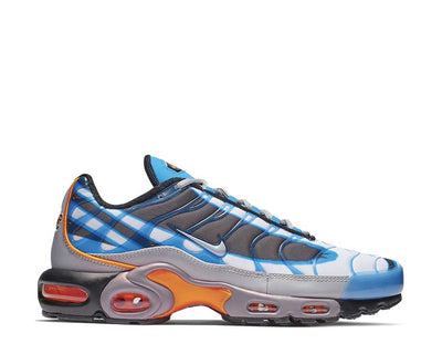 Nike Air Max Plus PRM Photo Blue Wolf Grey Orange Peel Black 815994-400