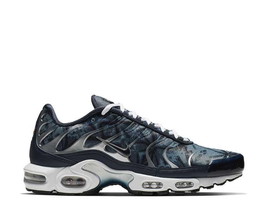 Nike Air Max Plus Blue Shadow / Obsidian - Medium Denim - White CI2301-400