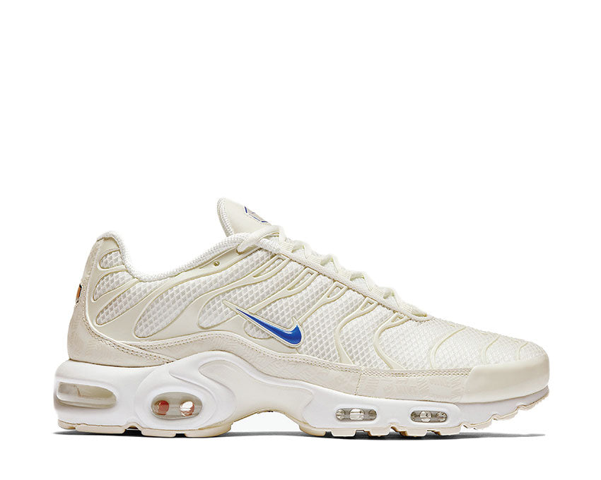 Nike Air Max Plus TN SE Sail Racer Blue White Chamois AR4251-100