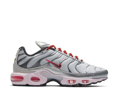 Nike Air Max Plus W Metallic Silver / Black - Bright Crimson CT2545-001