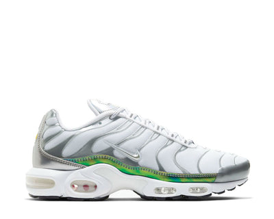 Nike Air Max Plus White / Metallic Silver CW2646-100