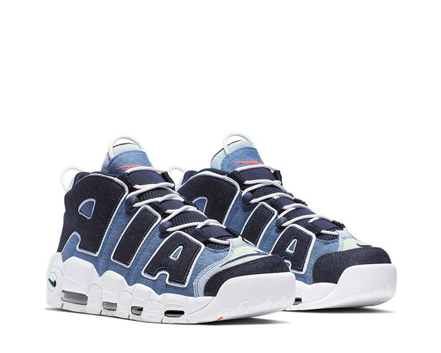 Nike Air More Uptempo '96 QS White Obsidian Total Orange CJ6125-100
