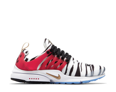 Nike Air Presto White / Metallic Gold - Black - Red Orbit CJ1229-100
