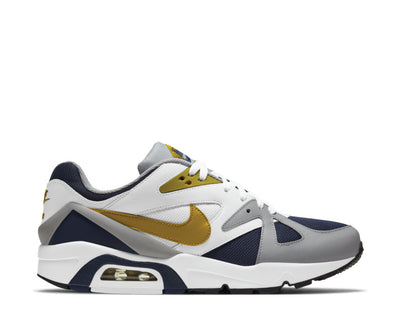 Nike Air Structure Midnight Navy / Dark Citron - LT Smoke Grey DB1549-400