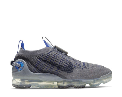 Nike Air Vapormax 2020 Flyknit Particle Grey / Dark Obsidian - Racer Blue CW1765-002