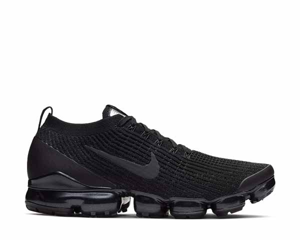 Nike Air Vapormax Flyknit 3 Black Anthracite White Metallic Silver AJ6900-004