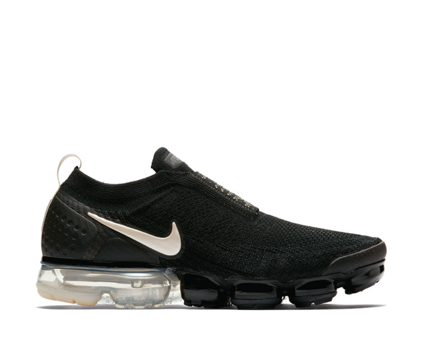 Nike Air Vapormax FK Moc 2 Black Light Cream White Thunder Grey AH7006 002