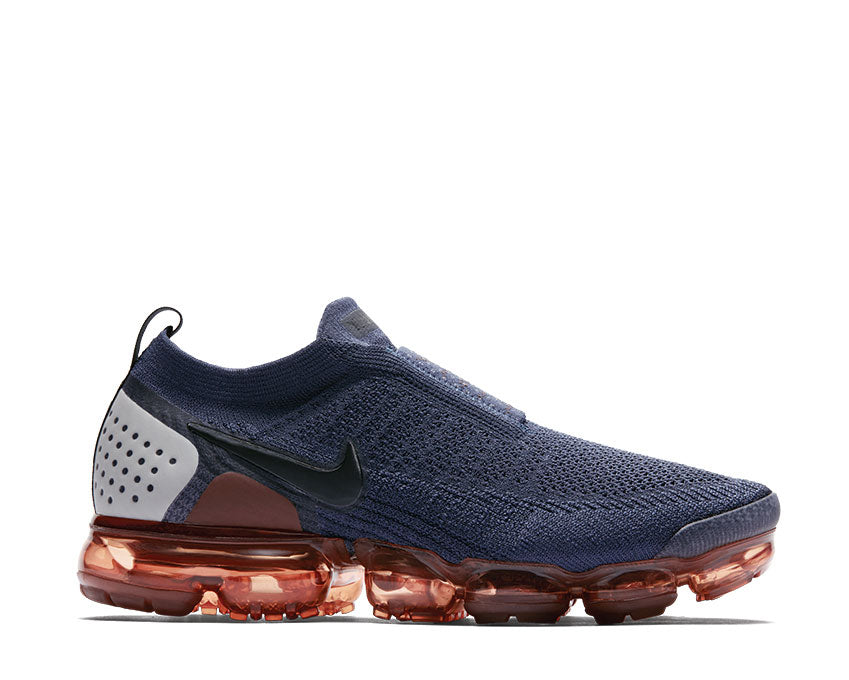 Nike Air Vapormax FK Moc 2 Thunder Blue Black Terra Blush Red Sepia AH7006 400