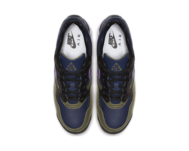 Nike Air Wildwood ACG Midnight Navy Court Purple Medium Olive AO3116-400