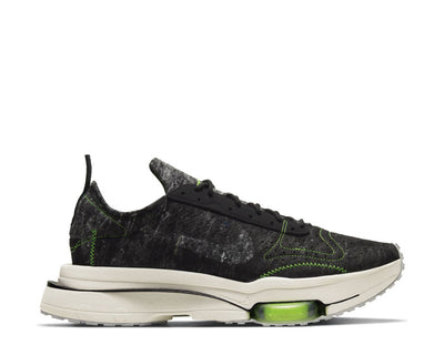 Nike Air Zoom Type Black / Black - Electric Green - Light Bone CW7157-001
