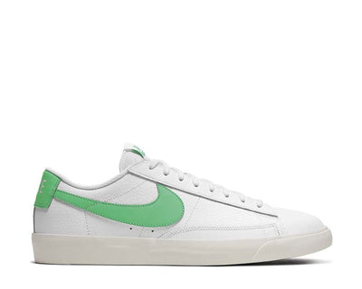 Nike Blazer Low Leather White / Green Spark - Sail CI6377-105