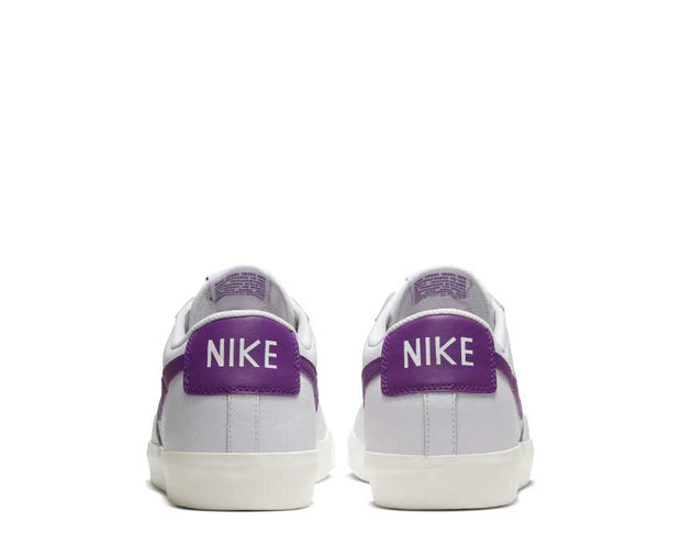 Nike Blazer Low Leather White / Voltage Purple - Sail CI6377-103
