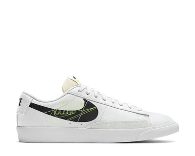 Nike Blazer Low White / Black - Volt - Summit White DA4652-100