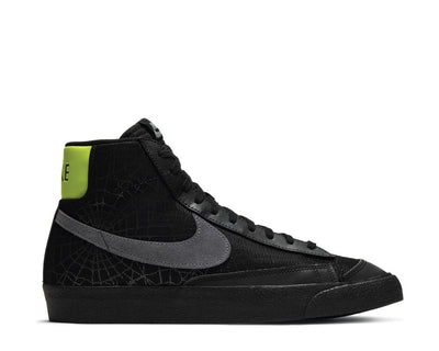 Nike Blazer Mid '77 Black / Smoke Grey - Limelight DC1929-001
