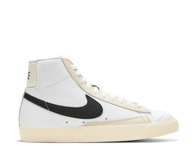 Nike Blazer Mid '77 Summit White / Black - Pale Ivory - Beach DD6621-100