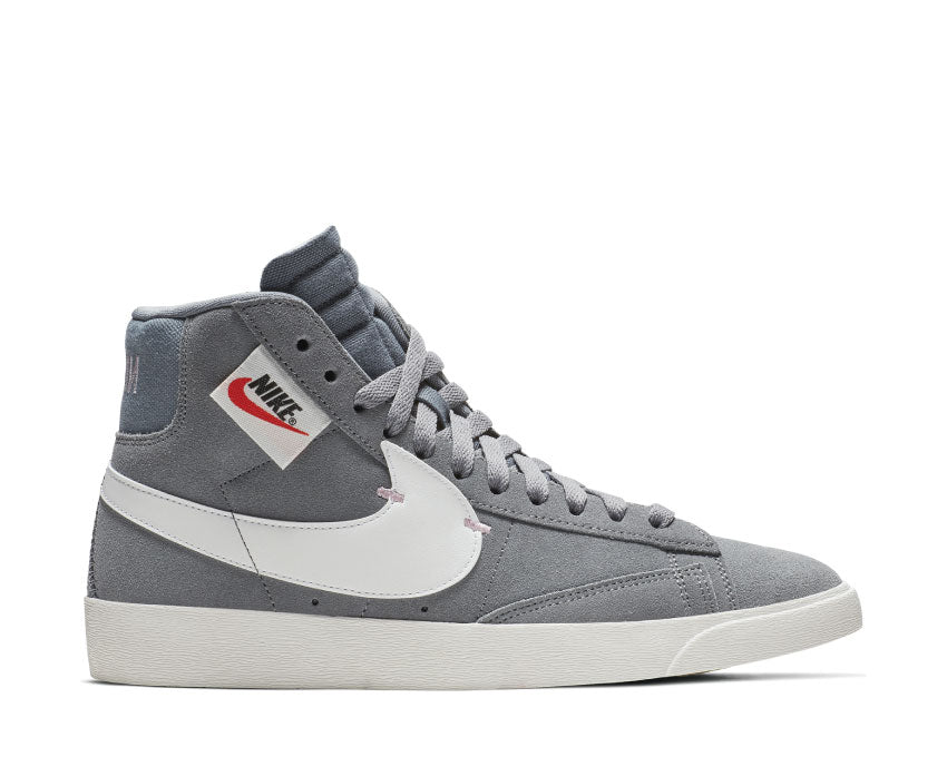 Nike Blazer Mid Rebel Cool Grey Summit White Dark Grey BQ4022 004