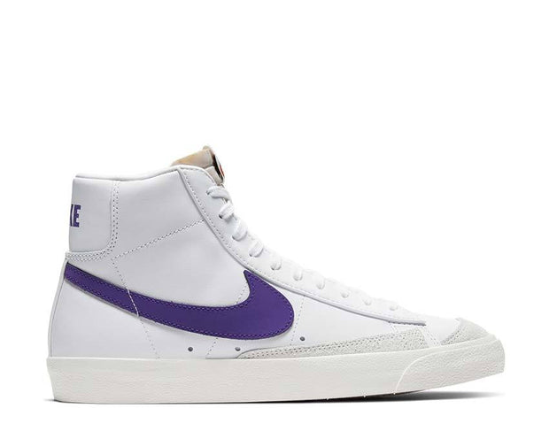 Nike Blazer Mid '77 Vintage White / Voltage Purple - Sail BQ6806-105