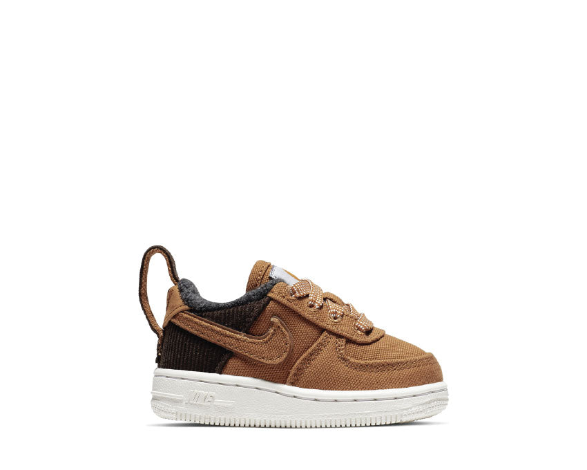 Nike Carhartt Air Force 1 Premium Wip TD Ale Brown Sail AV3527-200
