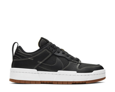 Nike Dunk Low Disrupt Black / Black - Fossil - Gum Med Brown CK6654-002