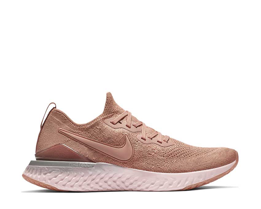 Nike Epic React Flyknit 2 Rose Gold Barely Rose BQ8928-600