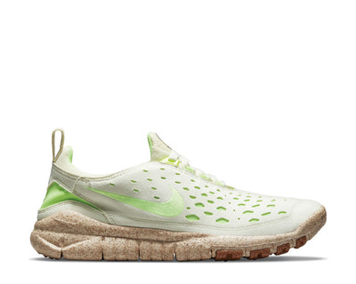 Nike Free Run Trail Premium Coconut Milk / Lime Glow - Metallic Gold CZ9079-100