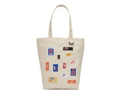 Nike Heritage Tote Bag Natural / Safety Orange BA6447-120