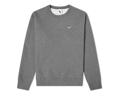 Nike M NRG Crew Wash Charcoal Heather / White CZ5353-071