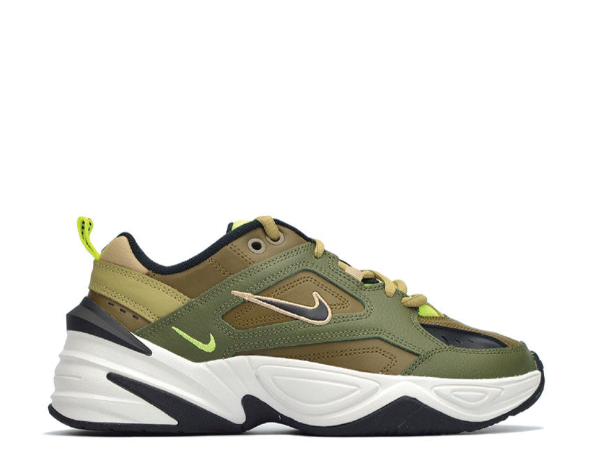 Nike M2K Tekno Medium Olive Black Yukon Brown AO3108-201