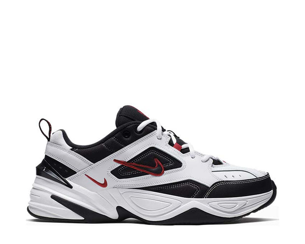 Nike M2K Tekno White Black University Red AV4789-104