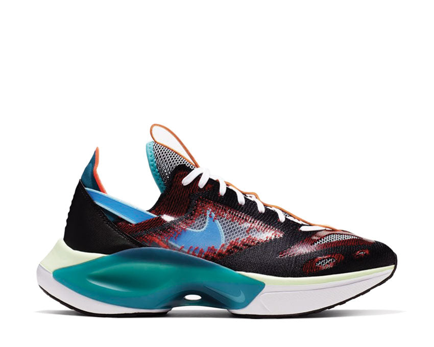 Nike N110 D/MS/X Black Blue Hero Blue Gaze University Red AT5405-001