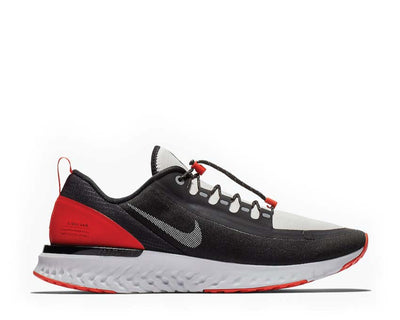 Nike Odyssey React Shield NRG Black Reflect Silver Habanero Red BQ8780-006