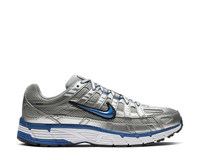 Nike P-6000 Metallic Silver Team Royal White  Black BV1021-001