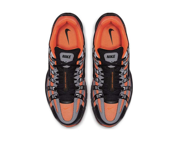 Nike P-6000 Total Orange Black Anthracite Flt Silver CD6404-800