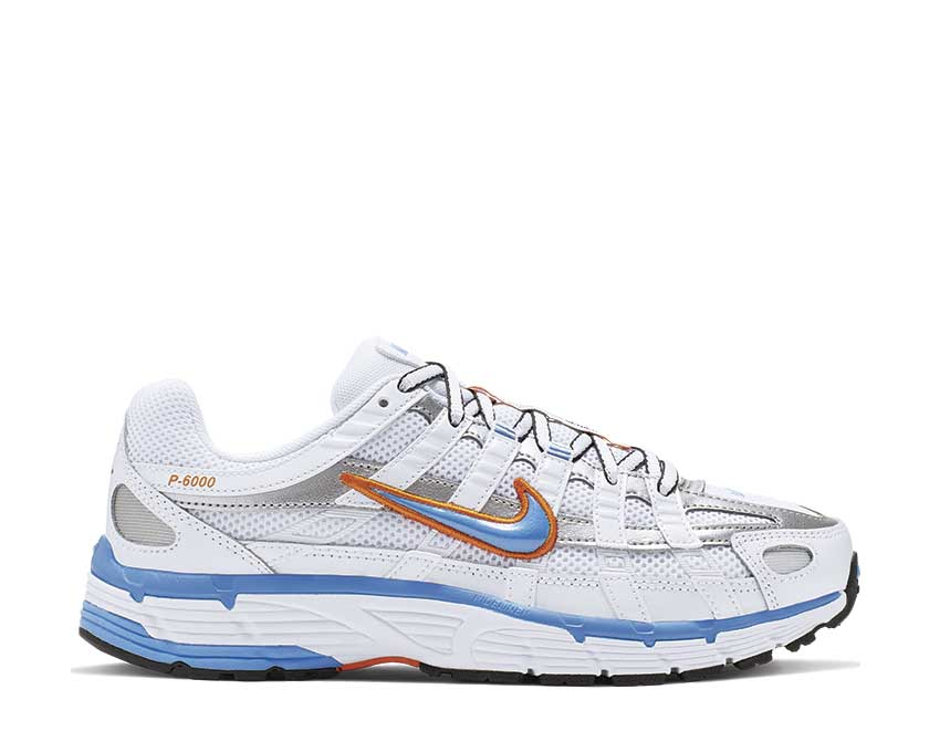 Nike P-6000 W White University Blue Metallic Silver BV1021-103