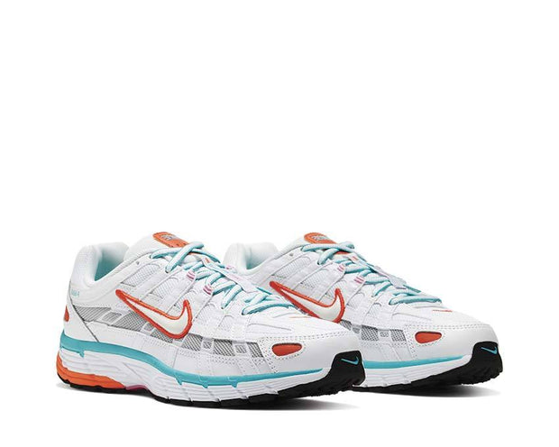 Nike P-6000 White / White - Oracle Aqua - Magic Flamingo BV1021-105