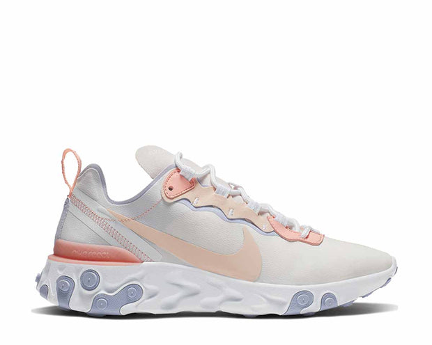 Nike React Element 55 Pale Pink Washed Coral Oxygen Purple BQ2728-601