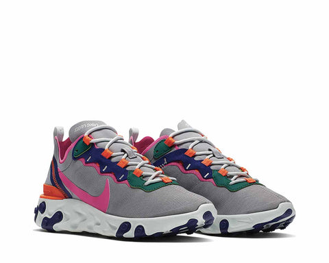Nike React Element 55 Wolf Grise