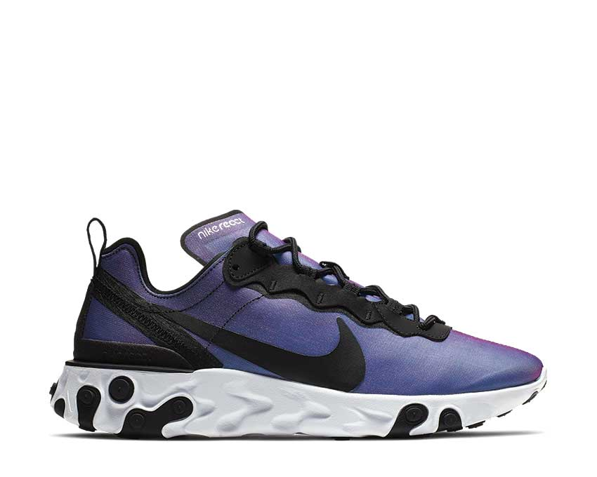 Nike React Element 55 Black Laser Fuchsia White BQ2941-002