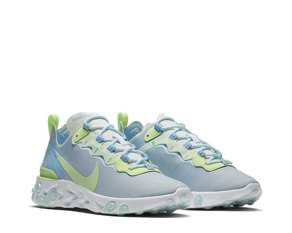 e6cf3d2cff0e ... Nike React Element 55 White Frosted Spruce Barely Volt BQ2728-100 ...