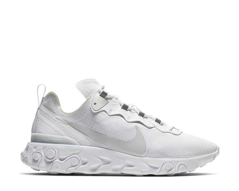 Nike React Element 55 Blanche