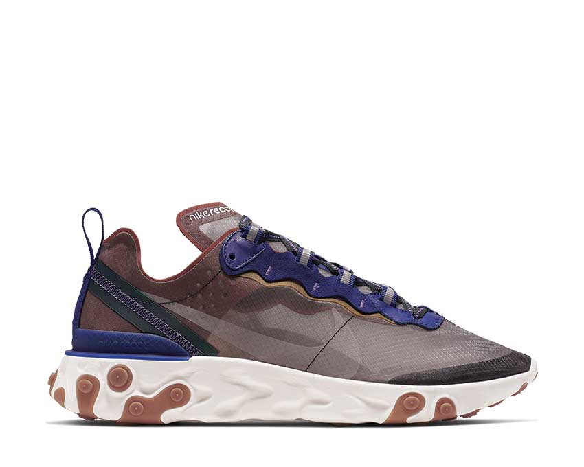 Nike React Element 87 Dusty Peach Atmosphere Grey AQ1090-200
