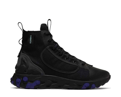 Nike React Ianga Black / Light Aqua - Anthracite - Court Purple AV5555-002