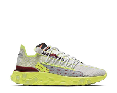 Nike React Ispa Platinum Tint / Team Red - Volt Glow CT2692-002