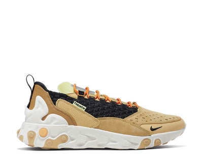 Nike React Sertu Club Gold Black Wheat Bright Ceramic AT5301-700