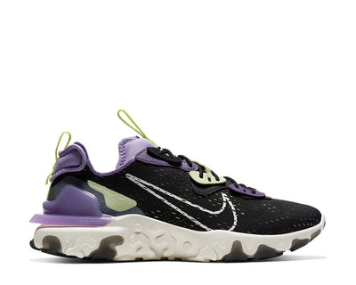 Nike React Vision Black / Sail - DK Smoke Grey - Gravity Purple CD4373-002