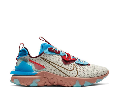 Nike React Vision Light Bone / Terra Blush - Photo Blue CD4373-001